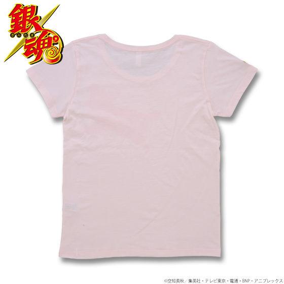銀魂 神楽定春シルエットTシャツ