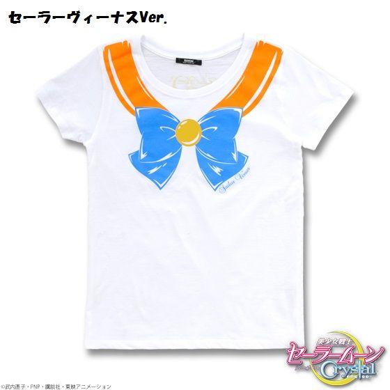 美少女戦士セーラームーンCrystal  なりきりセーラーTシャツ【再販】
