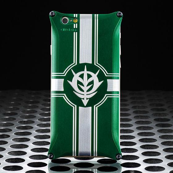 機動戦士ガンダム ジュラルミンスマホジャケット(iPhone6用)ジオングリーン