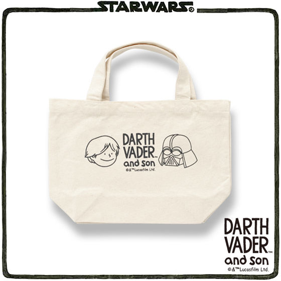 STAR WARS DARTH VADER and son ランチトート