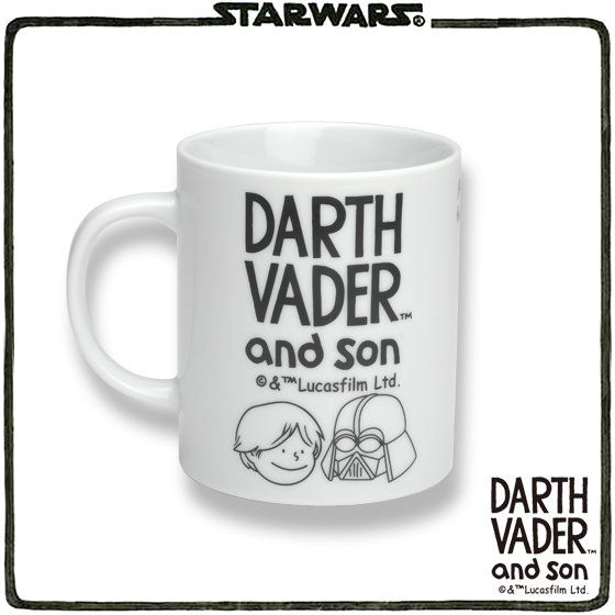 STAR WARS DARTH VADER and son マグカップ