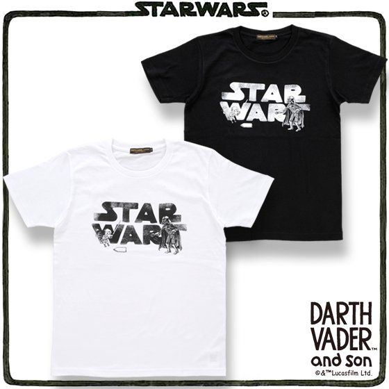 STAR WARS DARTH VADER and son Tシャツ(野球柄)