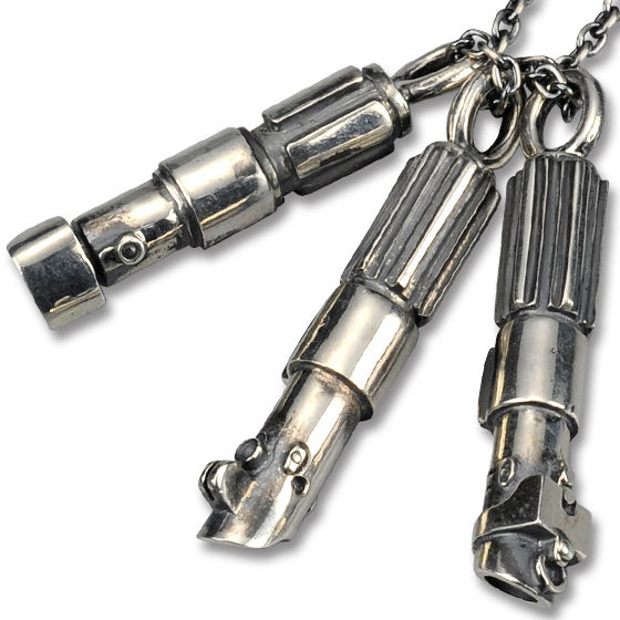 STAR WARS TM LIGHTSABER TM NECKLACE -3peace-