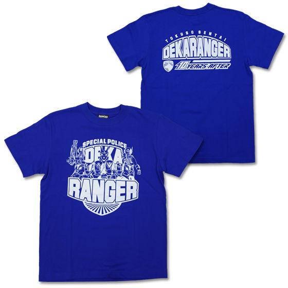 『特捜戦隊デカレンジャー 10 YEARS AFTER』 Tシャツ ブルー