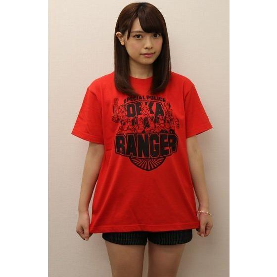 『特捜戦隊デカレンジャー 10 YEARS AFTER』 Tシャツ レッド
