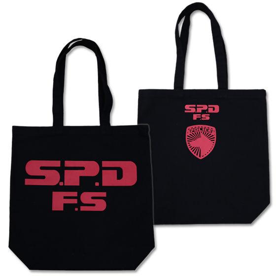 特捜戦隊デカレンジャー S.P.D F.S トートバッグ(ブラック)