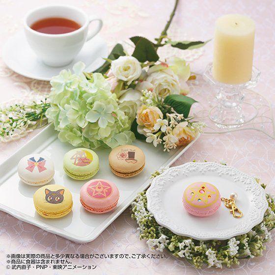 シュクレ キャラクテル SWEET MOON Princess time MACARON & macaron charm