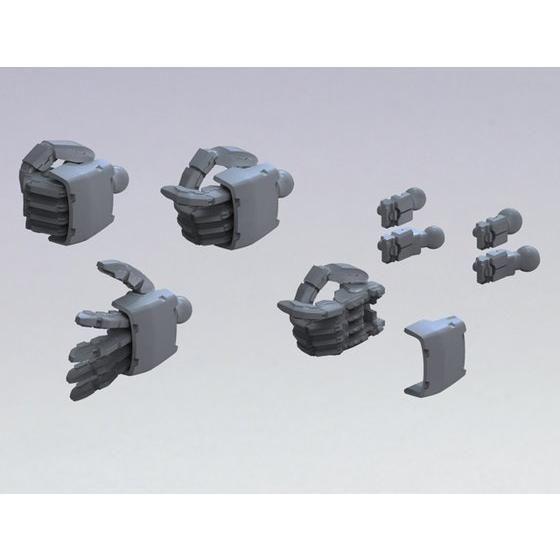 ビルダーズパーツHD 1/144 MSハンド02(ジオン系)ダークグレー