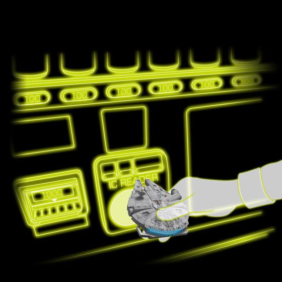 CRAZY CASE TOUCH MILLENNIUM FALCON(クレイジーケース タッチ ミレニアムファルコン)【2015年11月発送】