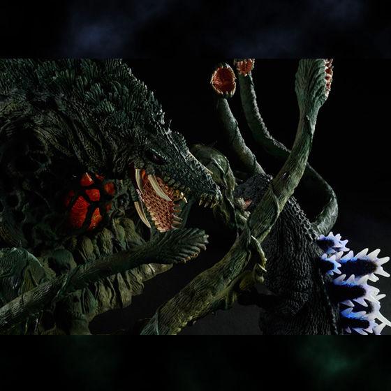 【抽選販売】東宝大怪獣シリーズ ゴジラ1989 & ビオランテ 発光Ver.セット プレミアムバンダイ限定版