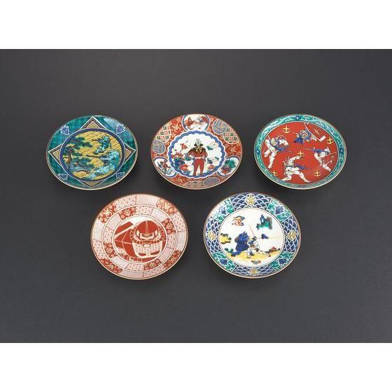 九谷焼 ガンダム豆皿セット