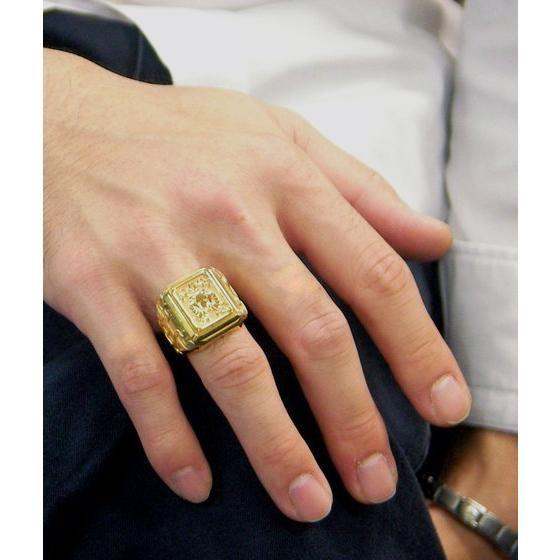 【受注生産】聖闘士星矢 黄金聖衣箱(ゴールドクロスボックス)デザインsilver925リング 牡羊座(アリエス)