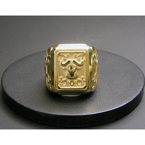 【受注生産】聖闘士星矢 黄金聖衣箱(ゴールドクロスボックス)デザインsilver925リング 牡牛座(タウラス)