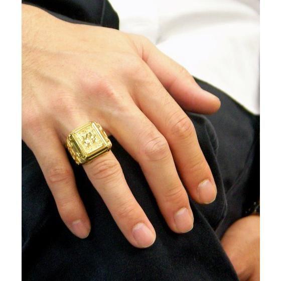 【受注生産】聖闘士星矢 黄金聖衣箱(ゴールドクロスボックス)デザインsilver925リング 双子座(ジェミニ)