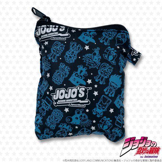 ジョジョの奇妙な冒険 おりたたみバッグ