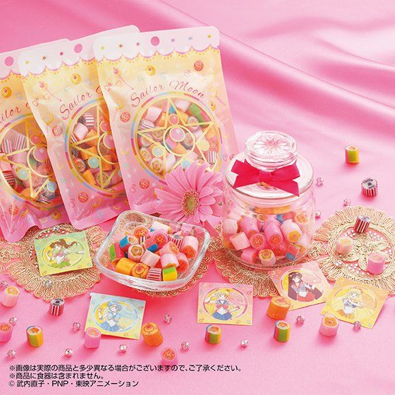 シュクレ キャラクテル SWEET MOON sailormoon candy MAKEUP MIX