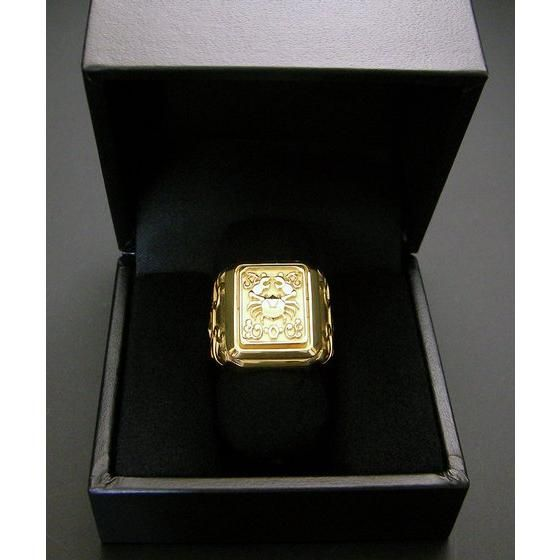 【受注生産】聖闘士星矢 黄金聖衣箱(ゴールドクロスボックス)デザインsilver925リング 蟹座(キャンサー)