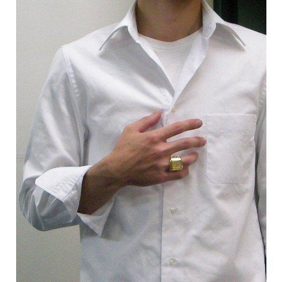 【受注生産】聖闘士星矢 黄金聖衣箱(ゴールドクロスボックス)デザインsilver925リング 天秤座(ライブラ)