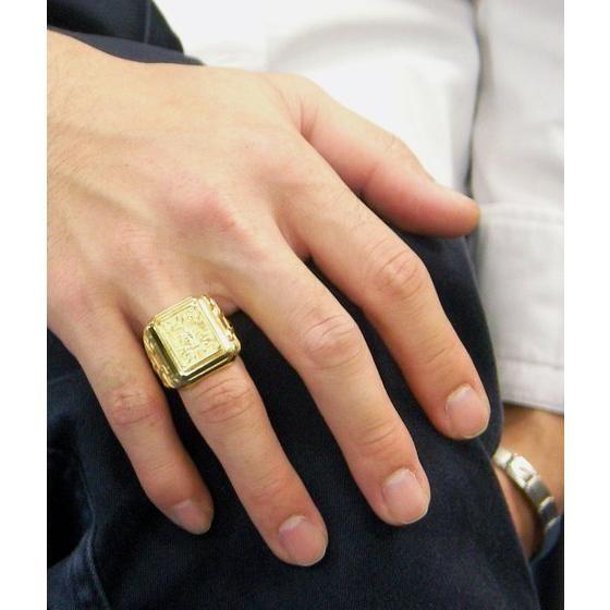 【受注生産】聖闘士星矢 黄金聖衣箱(ゴールドクロスボックス)デザインsilver925リング 蠍座(スコーピオン)