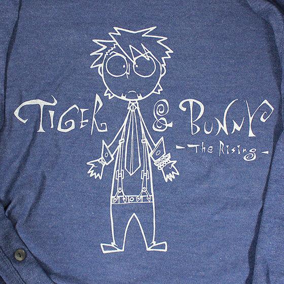 TIGER & BUNNY×HTML Precious Trio Kotetsu Cardigan(カーディガン)