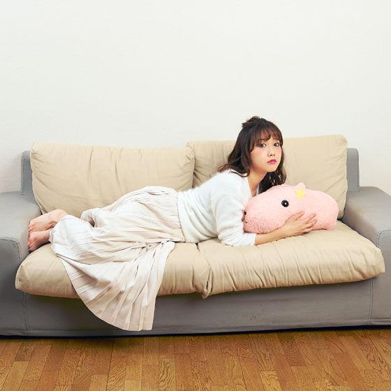 カピバラさん×田中里奈 ほおずりサイズのカピバラさん