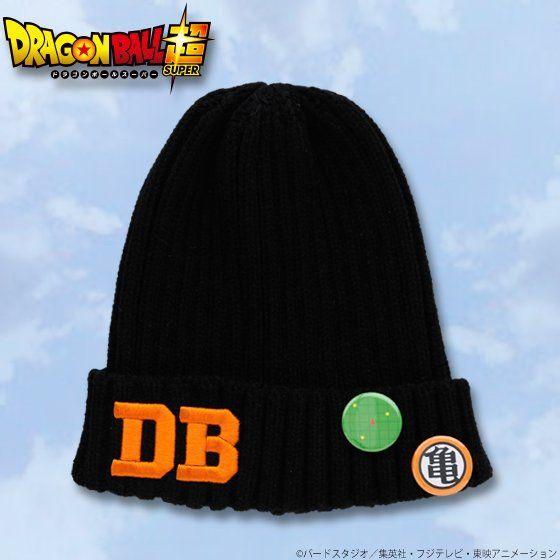 ドラゴンボール超 缶バッジ付きニット帽