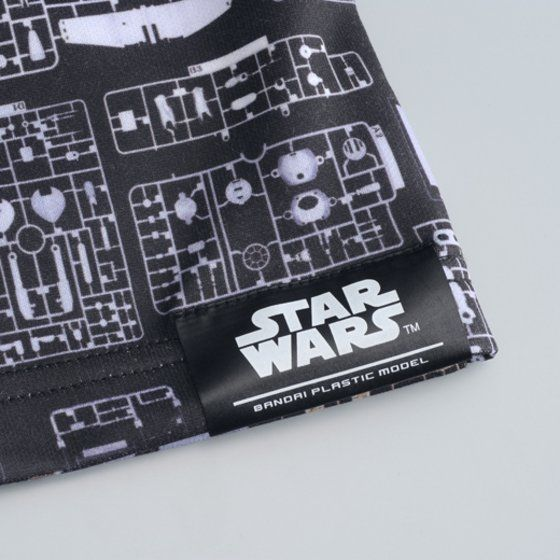 STAR WARS plastic model ランナー柄Tシャツ