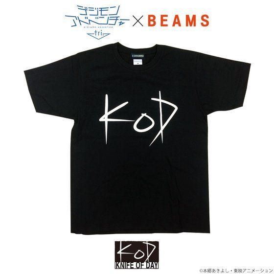 デジモンアドベンチャーtri. KNIFE OF DAY Tシャツ(ブラック)