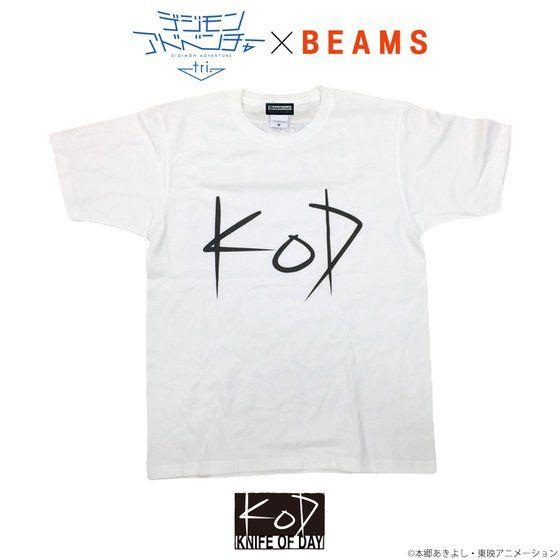 デジモンアドベンチャーtri. KNIFE OF DAY Tシャツ(ホワイト)