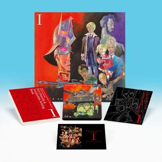 機動戦士ガンダム THE ORIGIN Blu-ray Disc Collector's Edition I & II セット(生コマフィルム付き)【BVC出店記念限定】