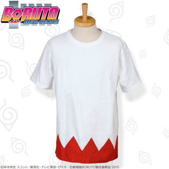 BORUTO -NARUTO THE MOVIE-  七代目火影マントTシャツ