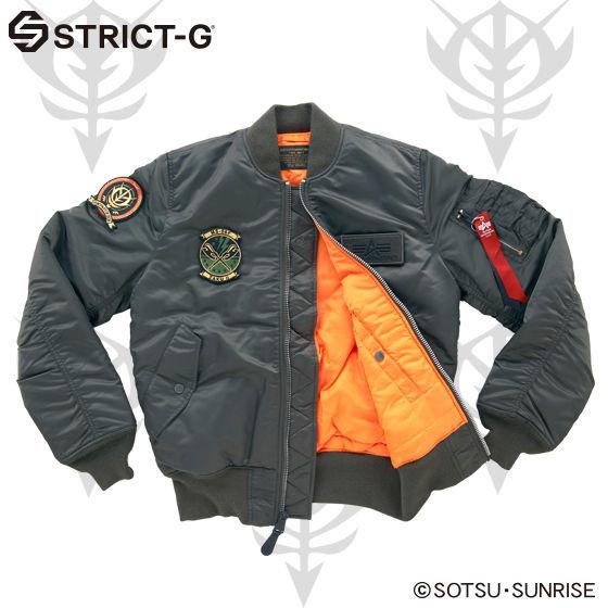 STRICT-G�~ALPHA MA-1 FLIGHT JACKET �y15A/W �U�N���f���z