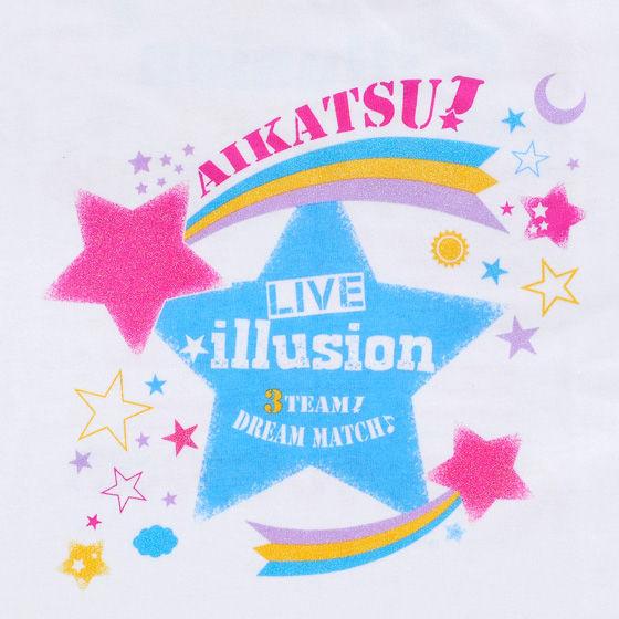 アイカツ!スタイル ライブイリュージョン LIVE★Tシャツ(キッズ)