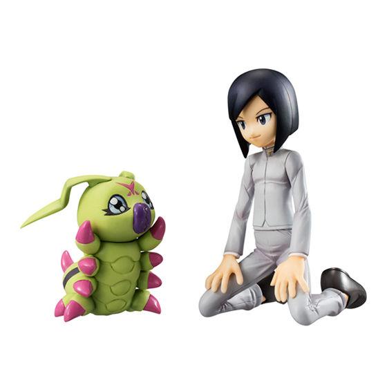 【抽選販売】G.E.M.シリーズ デジモンアドベンチャー02 一乗寺賢&ワームモン