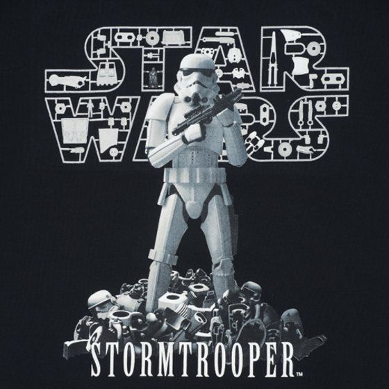 STAR WARS 1/12 scale STORMTROOPER柄 Tシャツ