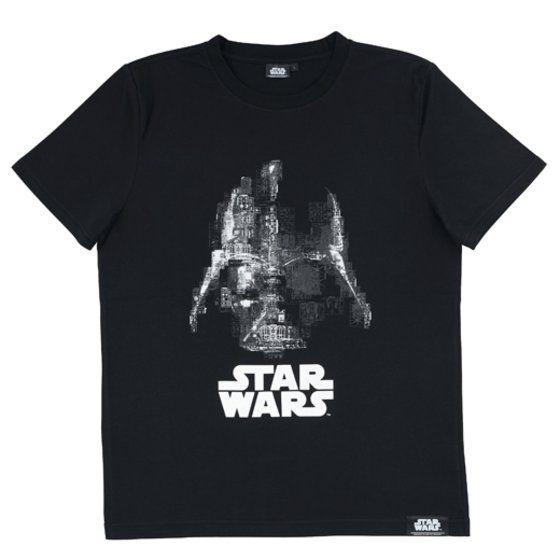 STAR WARS DARTH VADER  ランナー柄Tシャツ