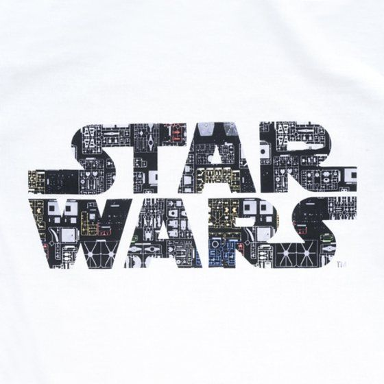 STAR WARS plastic model  �����i�[���@�����OT�V���c