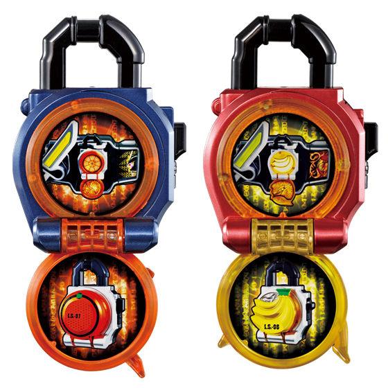 【抽選販売】サウンドロックシードシリーズ カプセルロックシード アーマードライダーセット