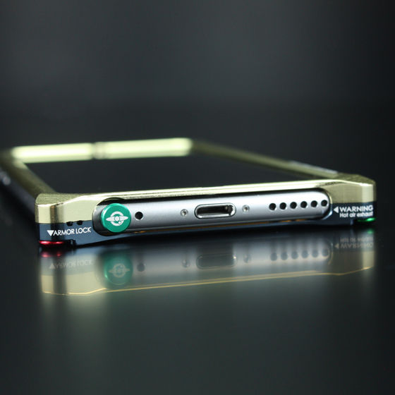 機動戦士ガンダム ジュラルミンバンパーセット iPhone6/6s【2次:2016年2月お届け】