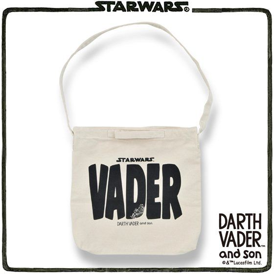 DARTH VADER and son トートバッグ