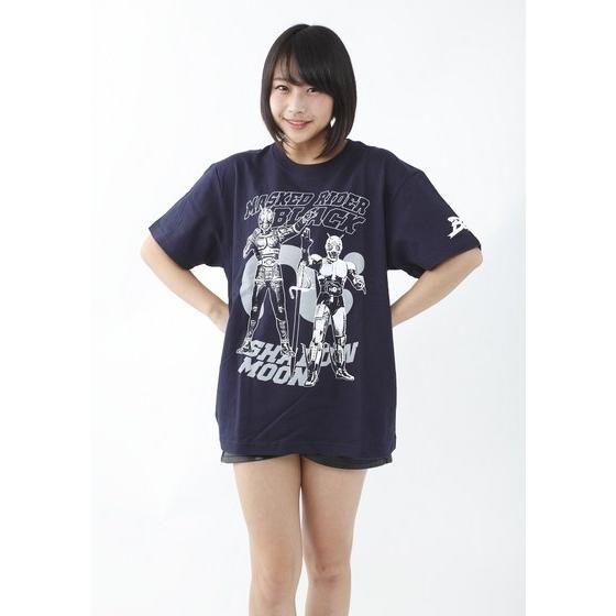 仮面ライダーTシャツ×ノルソルマニア コラボ Tシャツ(仮面ライダーブラック)