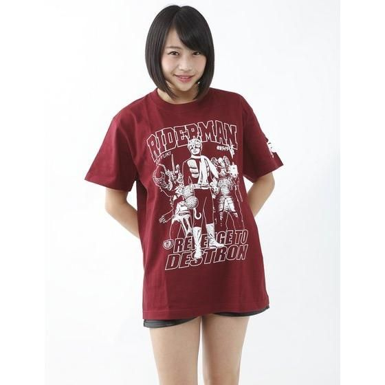 仮面ライダーTシャツ×ノルソルマニア コラボ Tシャツ(ライダーマン)