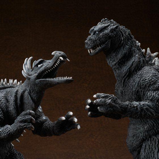 東宝30cmシリーズ ゴジラ1955 & アンギラス1955 限定対決セット【送料無料】
