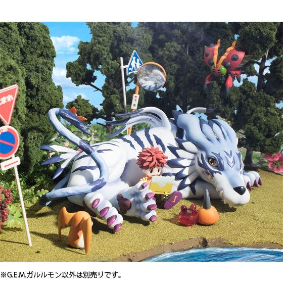 G.E.M.シリーズ デジモンアドベンチャー ガルルモン&石田ヤマト