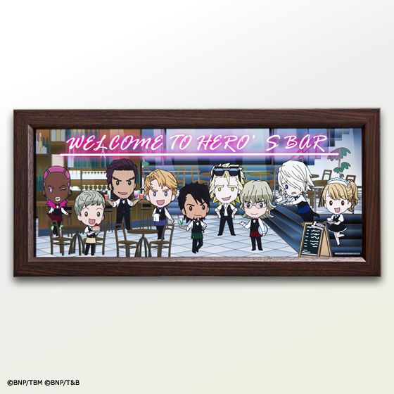 Cafe��Bar CHARACRO feat. ����� TIGER & BUNNY -The Rising- �I���W�i���p�u�~���[