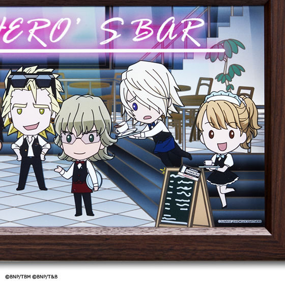 Cafe&Bar CHARACRO feat. 劇場版 TIGER & BUNNY -The Rising- オリジナルパブミラー