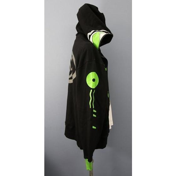 仮面ライダーゴースト なりきり風パーカー 仮面ライダーネクロム