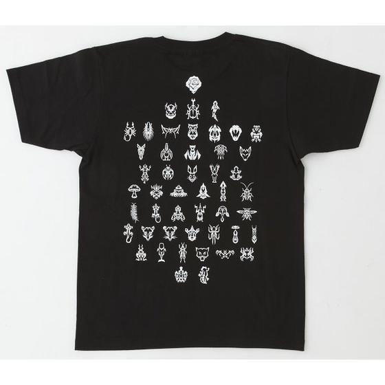 仮面ライダークウガ グロンギTシャツ 黒