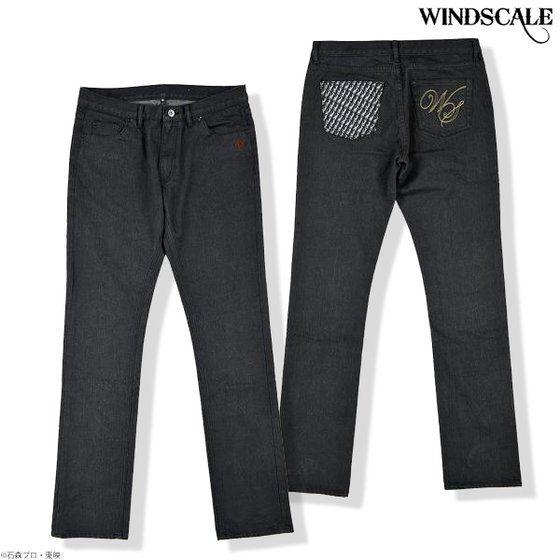 WIND SCALE パンツ ブラック