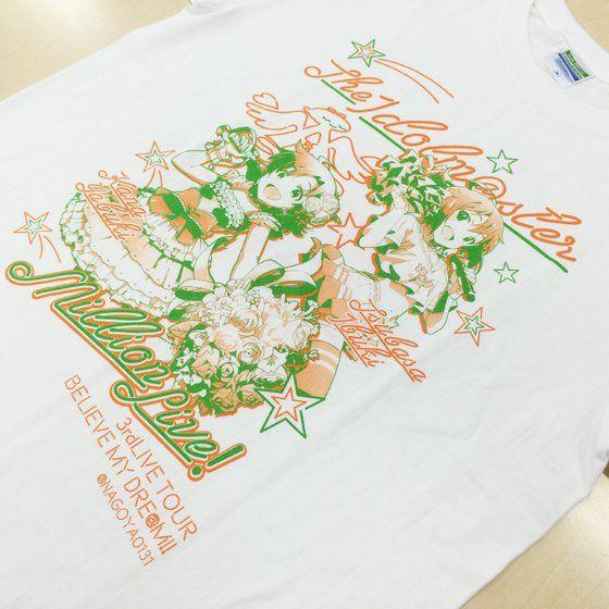 アイドルマスター ミリオンライブ! 3rdLIVE EXTRA Tシャツ @NAGOYA0131